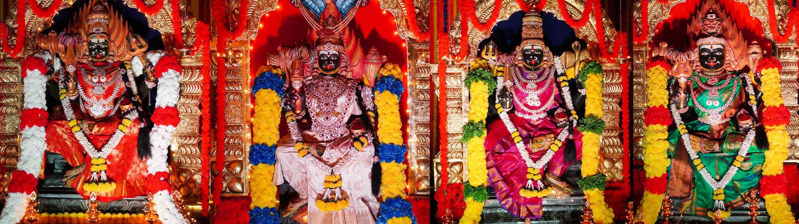 Grama devatalu at Ramaneswaram