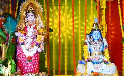 NavaDurga at Ramaneswaram