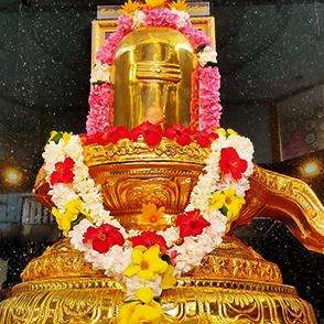 suvarna-shivalingam pradakshina