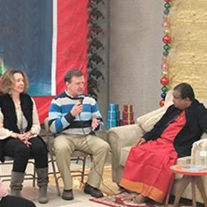 A Talk with Siddhaguru